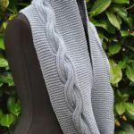 Как связать красивый шарф-снуд