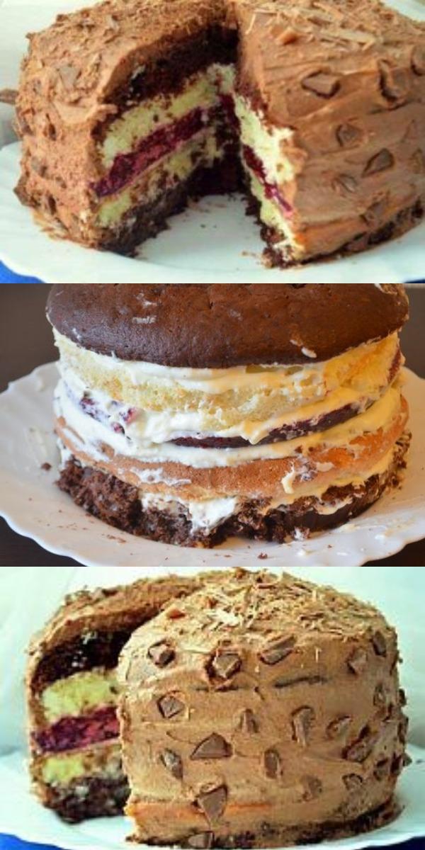 Фантастический торт «Мишель» настолько красивый и вкусный, что приведет в восторг всех ваших гостей.