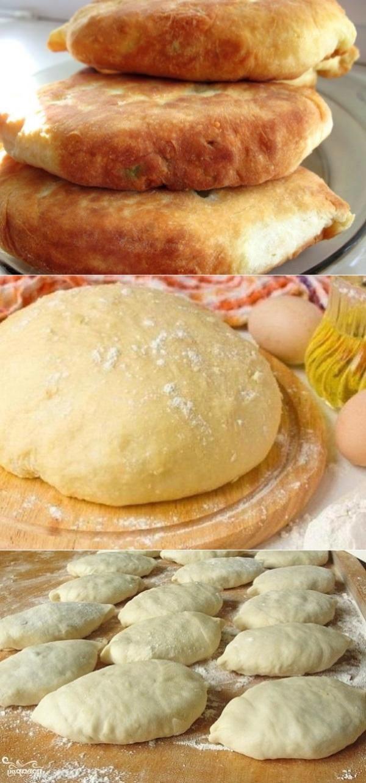 БЕСПРОИГРЫШНЫЙ ВАРИАНТ К ЧАЮ — САМЫЕ ВКУСНЫЕ пирожки «Моментальные» на кефире и твороге