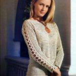 Пуловер, схема