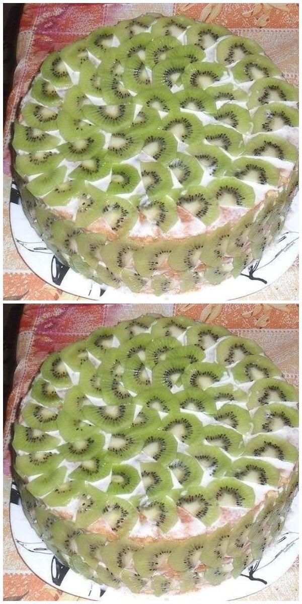 Роскошный Торт «Тропиканка» Без Выпечки за 15 мин!