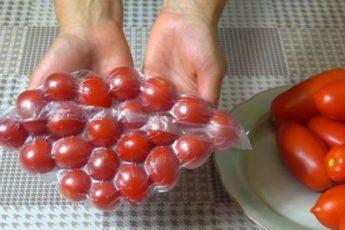Удивительно полезный совет, как хранить томаты круглый год.